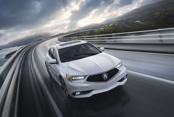 The bold new TLX 2018